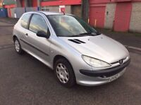 Peugeot 206 1.4 HDi Style 3dr (£30 TAX A YEAR) (MOT UNTIL MAY 2018) 2002
