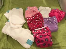Brand New Prewashed Charlie Banana small newborn reusable cloth nappies