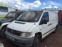 Mercedes Vito 108d & 109cdi - Spare Parts Available