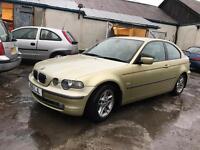 BMW 325TI COMPACT AUTO , LOW MILES