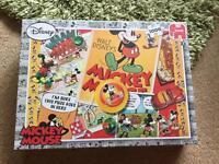 Mickey Retro Montage 1000 Piece Jigsaw Puzzle