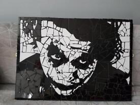 The Joker mosaic