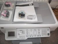 HP All in one printer & Fax C7200 with instructions & installation disk