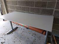 Three Ikea White Desks/Table