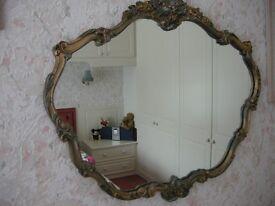 Art Deco Vintage Wall Mirror