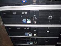 HP Compaq Desktop Computer Intel Core 2 Duo CPU 2.66ghz 4gb RAM