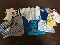 Bundle of baby boys clothes 3-6 months (38 items)