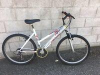 British Eagle ladies mountain bike 18 gears 20 inch frame 26 inch wheels