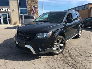 2016 Dodge Journey Crossroad MOONROOF CLOTH & LEATHER NAVIGATION