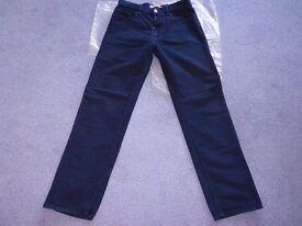 Genuine Firetrap Hydro Mens Black Jeans * 32W/32L * Regular Fit * Like New!! Cost £75!!