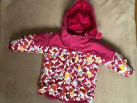 H&M girl's baby/toddler jacket size 9-12 months - used - Collection only from Putney SW15