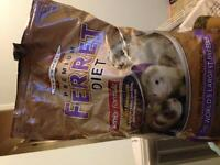 Marshall senior ferret food
