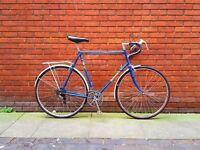 "XXL vintage Dawes touring / commuting bike. Gigantic 25"" frame. Fully working."
