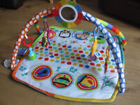 FISHER PRICE BABY GYM & PLAYMAT +8 ASSORTED BABY TOYS including Little tikes/night garden +many more