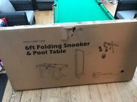 New 6ft Pool Table - Still In Original Box, Unwanted Gift - Collection Only