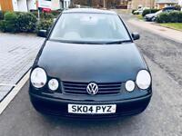 VW Polo 1.2 2004 ....Full year MOT 2019 Low miles FSH 2 Owner £1250