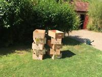 Wooden wine boxes for sale!