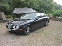 Automatic Black 'S' Type Jaguar 07 diesel 4doors 92,600 miles