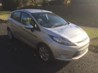 2009 FORD FIESTA 1.2 STYLE 5 DOOR SILVER