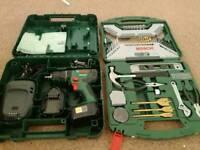 Drill + set tools