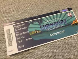 Saturday ticket Cornbury Music Festival (Bryan Adams)