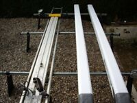 LWB Roof Bars with Rhino Ladder Rack & 2x Rhino Tubes £100 ono (For Transit/Sprinter/Crafter/Boxer