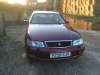 Lexus GS 300 near full mot runs and drives brill looking for new home
