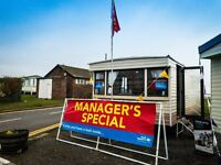 Cheap Static Caravan Holiday Home for Sale [MANAGER SPECIAL] - No site fees until 2018! - East Coast