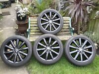 Mini F56 Cooper S x4 wheels and tyres