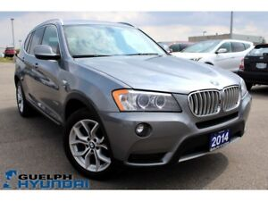 2014 BMW X3 xDrive28i-SUNROOF,PUSH START,BACKUPCAM &MORE!