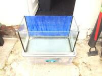 4 Fish tanks £20