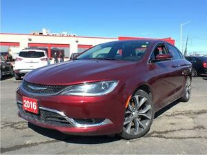 2016 Chrysler 200 C**LEATHER**NAVIGATION**SUNROOF**BACK UP CAMER