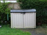 Shed - keter horizontal storage shed