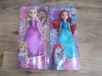 Disney Princess Doll Bundle - New & Sealed - Ariel & Rapunzel