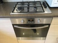Zanussi Gas Hobb/Electric Oven/AEG Washing machine/Dishwasher