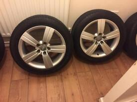 Audi TTRS alloys £300