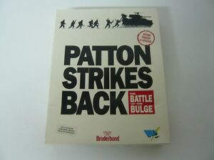 Patton-Strikes-Back-Aventura-Grafica-Retro-PC-Caja-de-carton-grande