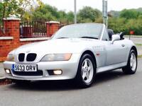BMW Z3 1.9 ROADSTER 1998 LOW MILEAGE FSH LEATHER INTERIOR £995