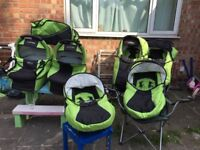 TAKO JUMPER double Twin Prams,pushchair, carseat 3in1