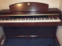 YAMAHA CLAVINOVA CLP-950 Digital Piano in mahogany Full Size 88 keys, superb sound and touch