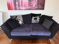 Napier sofa set - Sofology (3 seater &cuddler swivel chair)