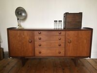 A. Younger Mid Century Sideboard Afromosia Teak Danish Style