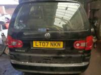 VW SHARAN 1.9 TDI BREAKING FOR SPARE PARTS