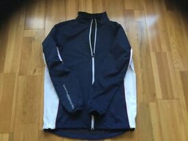 Galvin Green boys Golf Jacket fits a 12 year old , navy blue and white , excellent condition