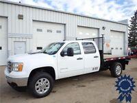 2014 GMC Sierra 3500HD SLE, 25,028 KMs, 8' Flat Deck Truck