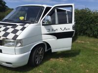 Two Berth 5 Seater T4 VW Campervan £6,700 Full mot Includes many extras