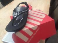 Fitflop novy black sandals