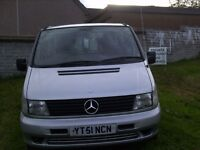 Mercedes Vito, Wheelchair accessible, has Hand control, with wheelchair lift moted