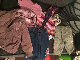Loads of girls clothes 0-6 months