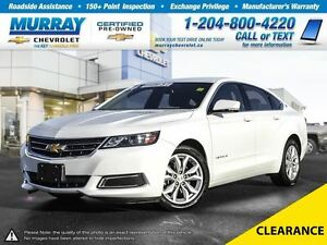 2016 Chevrolet Impala LT 2LT *Remote Start, Rear View Camera*